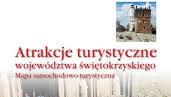 Atrakcje turystyczne województwa świętokrzyskiego – mapa