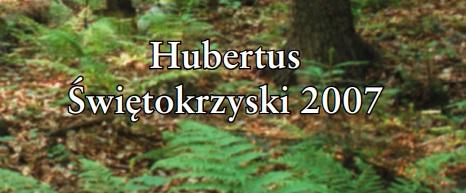 Hubertus Świętokrzyski 2007