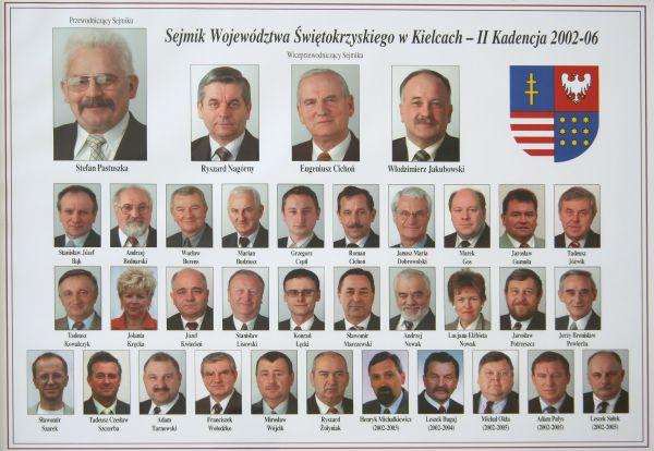 Radni Sejmiku Województwa Świętokrzyskiego II kadencji