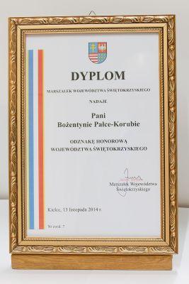 """Odznaka Honorowa """"Za Zasługi dla Województwa Świętokrzyskiego"""""""