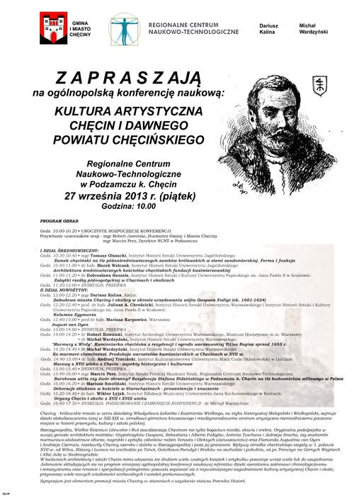O historii Chęcin podczas sympozjum naukowego