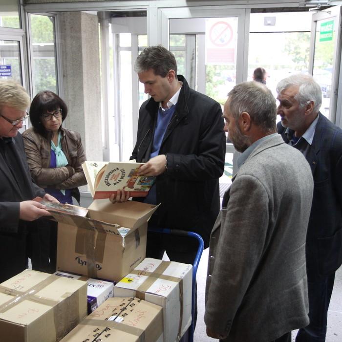 Książki dla Polonii na Ukrainie
