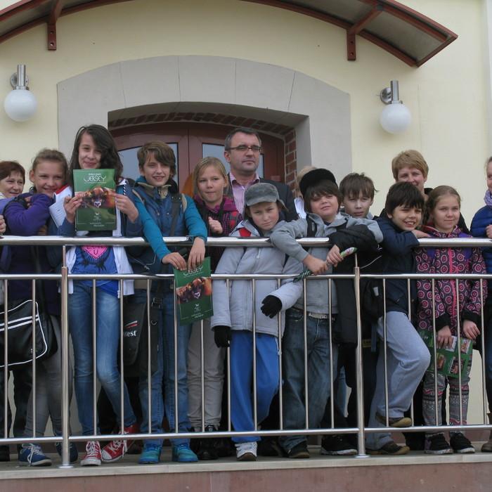 Dzieci z Kielc poznały mleko