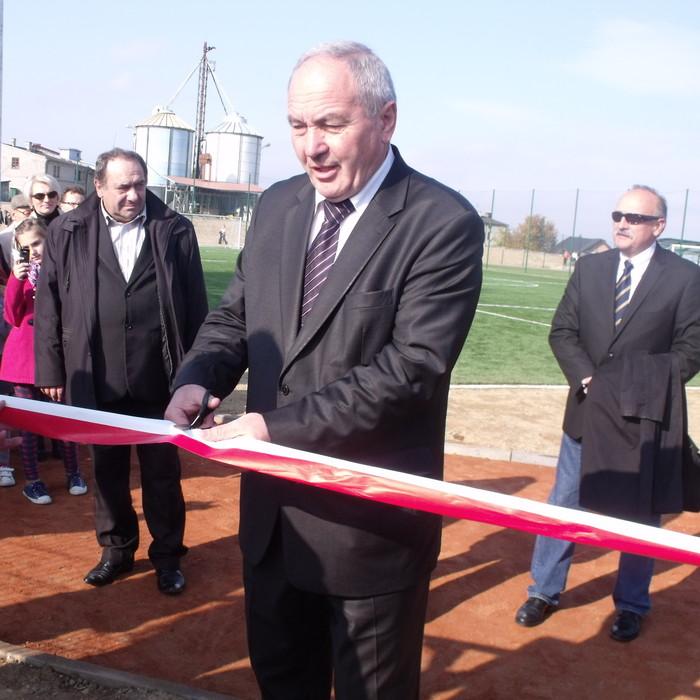 Stadion w Opatowie po modernizacji