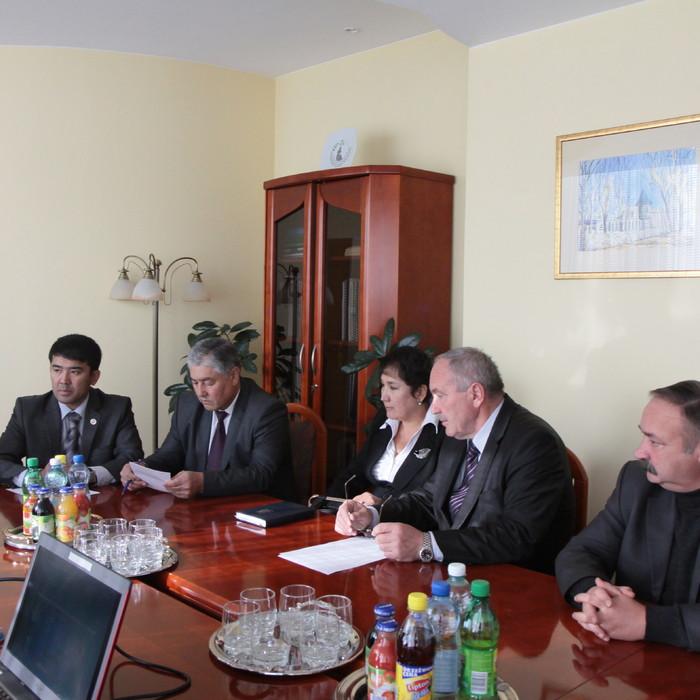 Delegacja kirgiska z wizytą w Urzędzie Marszałkowskim