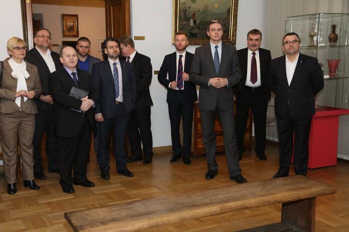 Marszałkowie zainaugurowali Konwent i zwiedzili Muzeum Narodowe