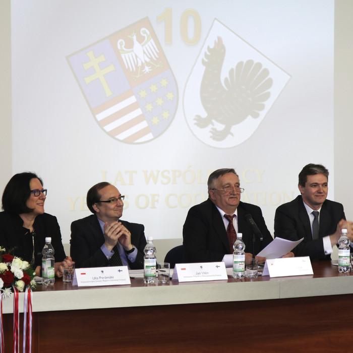 10 lat współpracy Województwa Świętokrzyskiego z Regionem Centralnej Finlandii