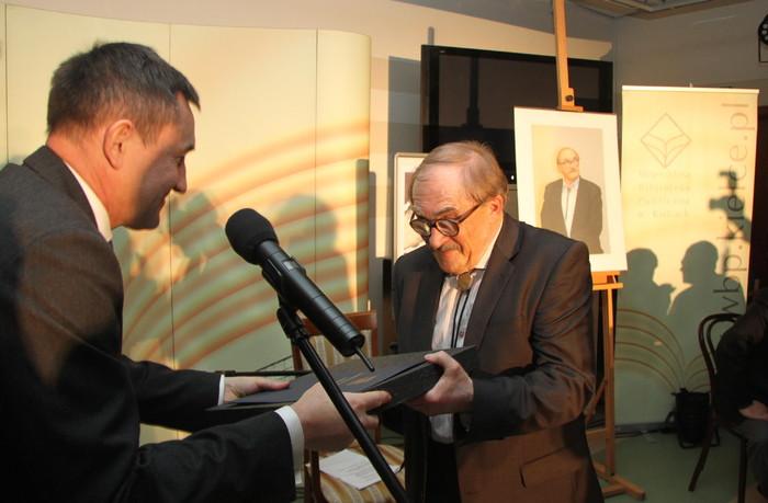 Medal Gloria Artis dla Stanisława Nyczaja