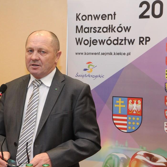 Minister Marek Sawicki na Konwencie Marszałków i u producentów rolnych