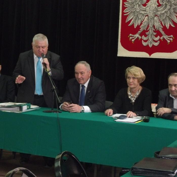 Kazimierz Kotowski na sesji w Ożarowie