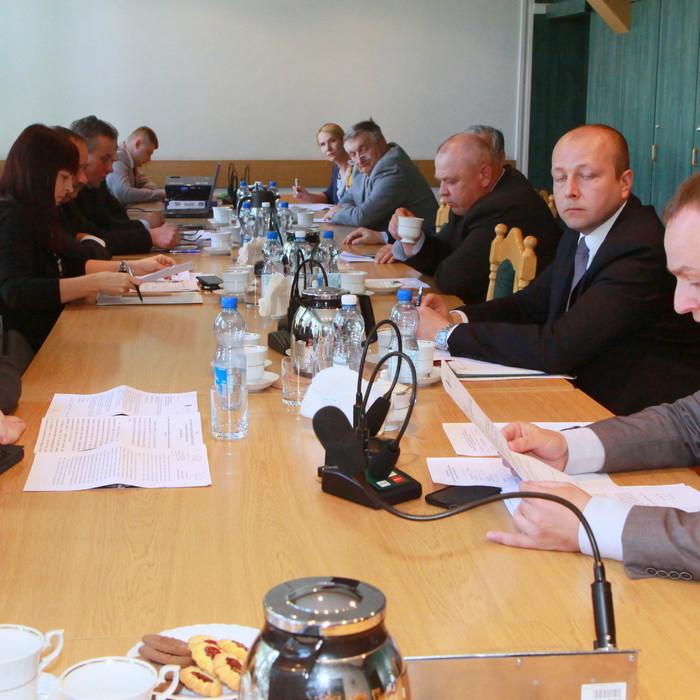 Obradowali członkowie Komisji Rolnictwa, Gospodarki Wodnej i Ochrony Środowiska