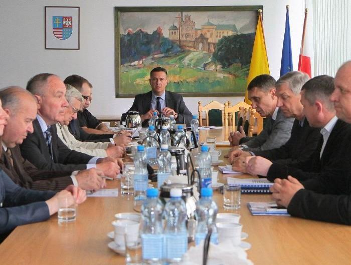 O publicznym transporcie podczas obrad Komisji Sejmiku