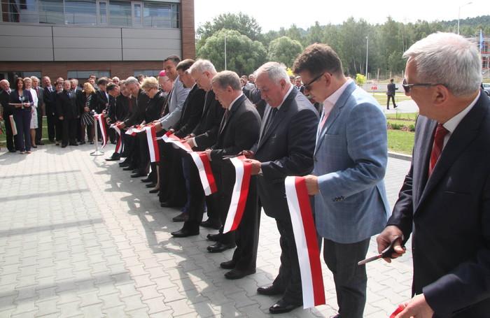 Uroczyste otwarcie nowej siedziby Starostwa Powiatowego w Kielcach