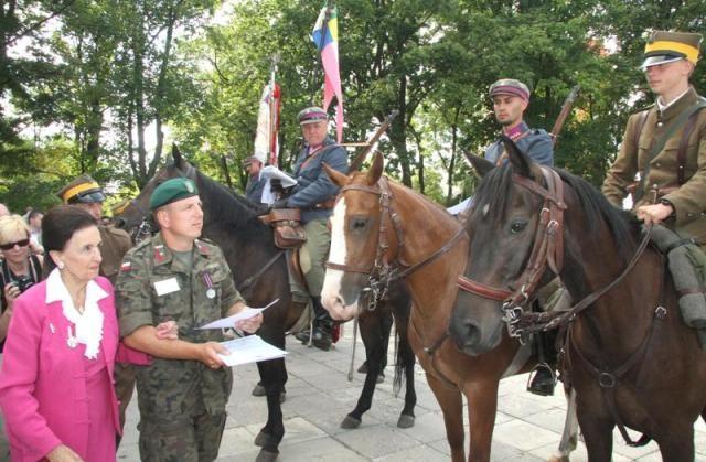 Kadrówka zbliża się do granic województwa świętokrzyskiego