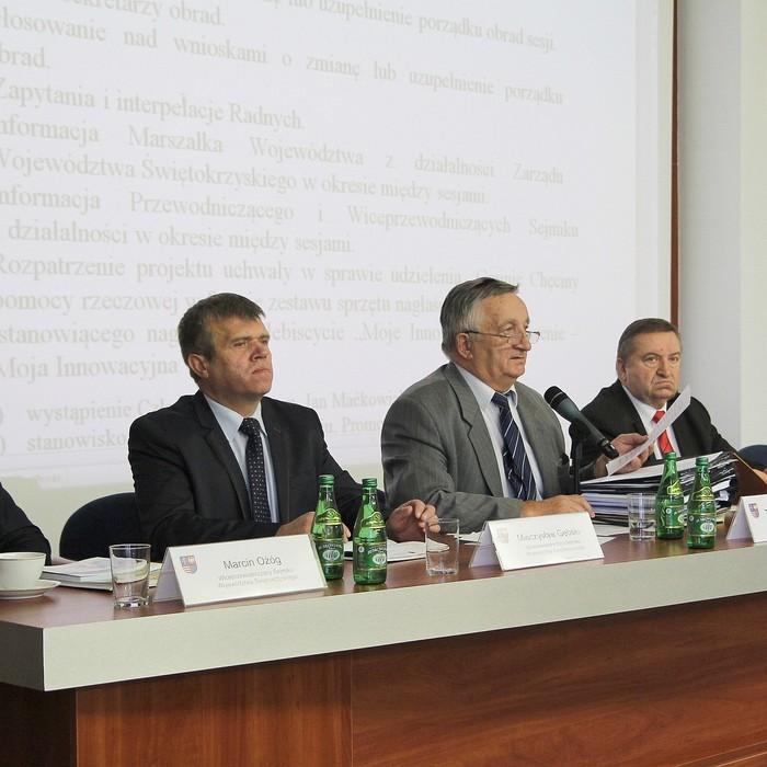 XLIX sesja – ostatnia w IV kadencji Sejmiku Województwa Świętokrzyskiego