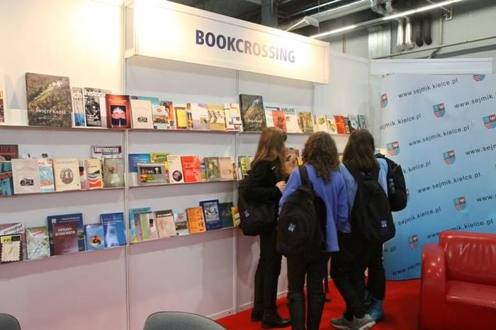 Bookcrossing w Targach Kielce