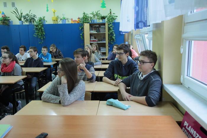 O roli i kompetencjach samorządów podczas spotkania z gimnazjalistami