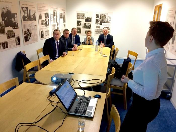 Szereg spotkań i konsultacji w Brukseli delegacji województwa świętokrzyskiego
