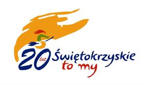 Logo 20 lat Województwa Świętokrzyskiego