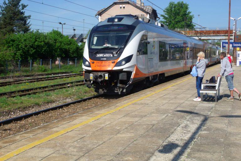 Ograniczenia w kursowaniu pociągów obsługiwanych przez Spółkę POLREGIO  na terenie województwa świętokrzyskiego