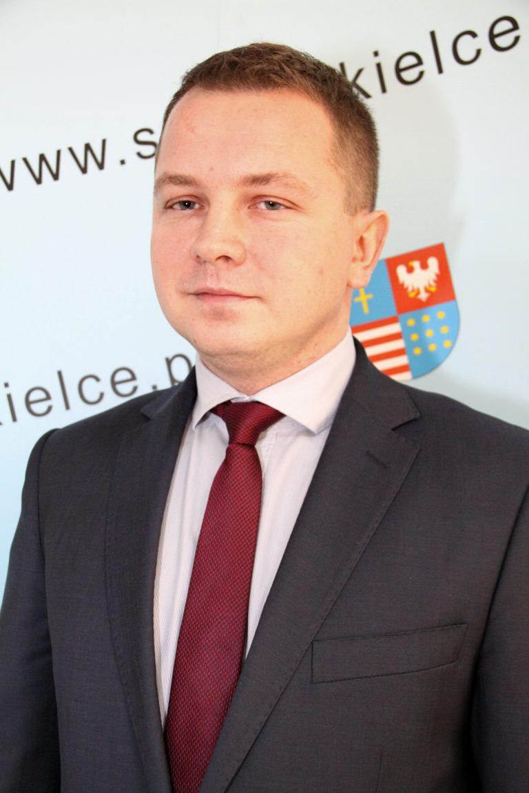 Marcin Ożóg – Wiceprzewodniczący Sejmiku Województwa Świętokrzyskiego