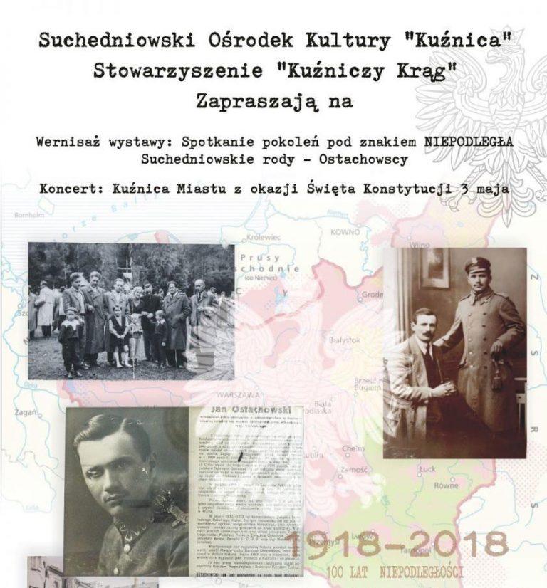 """Wystawa """"Suchedniowskie rody – Ostachowscy"""""""