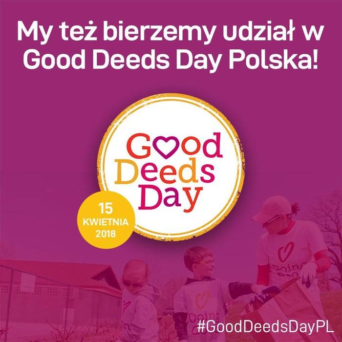 Good Deeds Day – razem dla wspólnego dobra