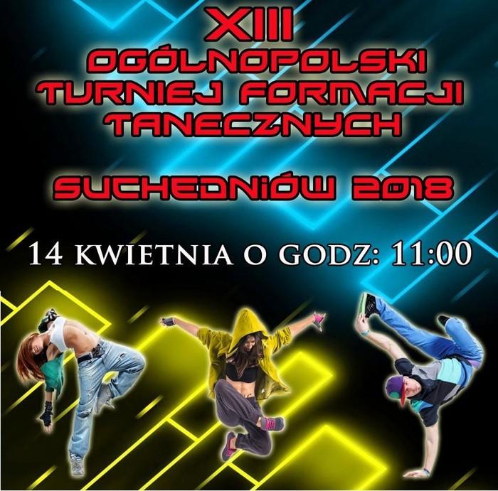 Taneczne show w Suchedniowie