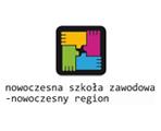 Logo projektu Nowoczesna Szkoła Zawodowa - Nowoczesny Region