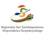 Logo Regionalnej Sieci Szerokopasmowej Województwa Świętokrzyskiego