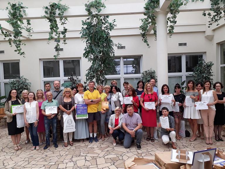 Świętokrzyskie Centrum Onkologii Dziękowało Nauczycielom Uczącym Profilaktyki Onkologicznej (2)