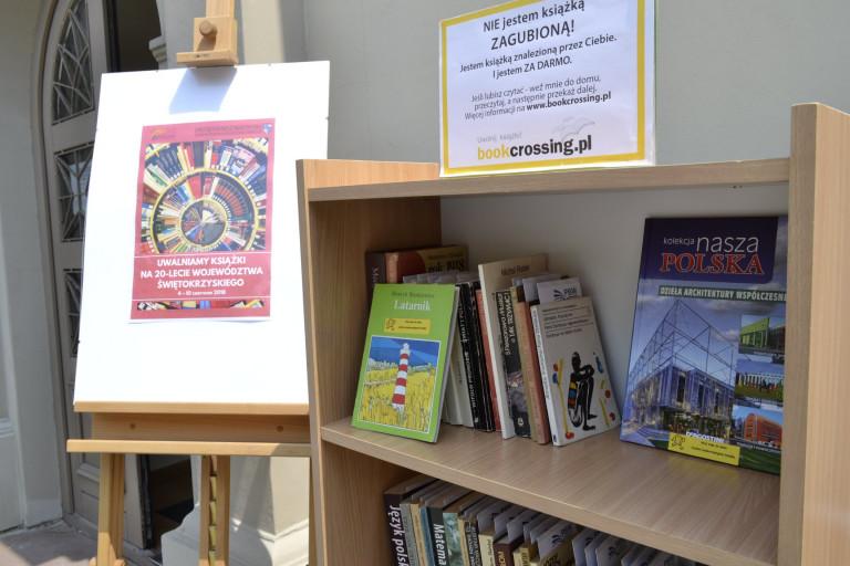 Uwalniamy książki w województwie świętokrzyskim