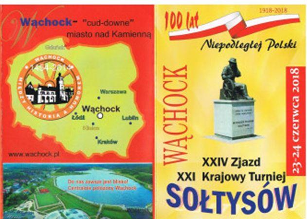 Sołtysi z całego kraju zawitają do Wąchocka