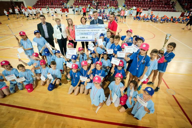 Zwycięzcy IV Świętokrzyskiej Mini-Olimpiady w Turnieju Gier i Zabaw