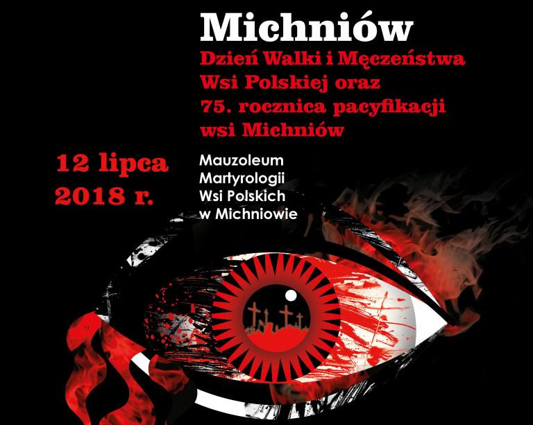 75. rocznica pacyfikacji Michniowa