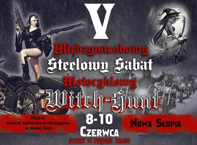 Steelowy Sabat Motocyklowy w Nowej Słupi