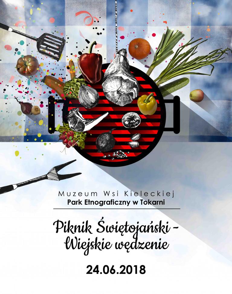 Piknik Świętojański i wiejskie wędzenie w Tokarni