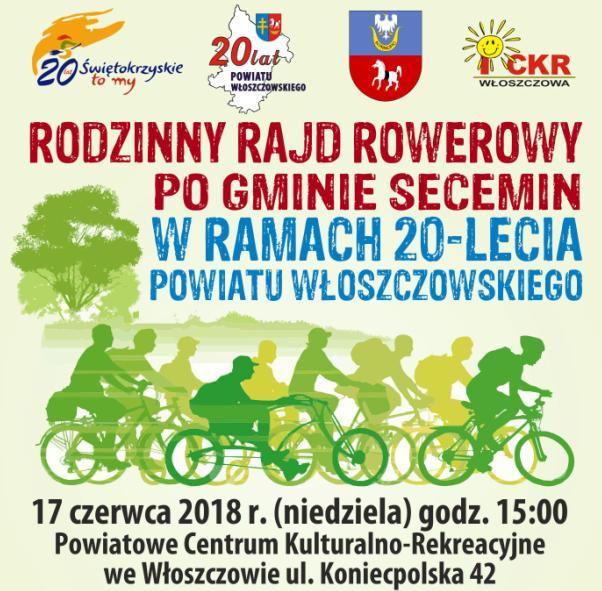 Rowerem po gminie Secemin