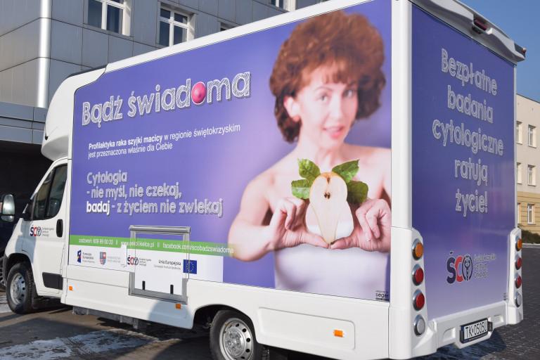 ŚCO zaprasza na bezpłatne badania cytologiczne