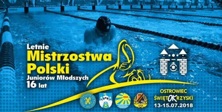 Mistrzostwa Polski Juniorów Młodszych w Pływaniu