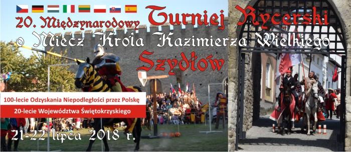 Obchody 20 – lecia województwa świętokrzyskiego z królem Kazimierzem Wielkim