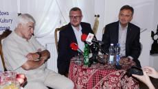 Konferencja Prasowa W Dworku Laszczyków W Kielcach