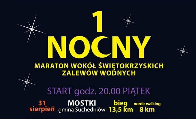 Nocny Maraton Wokół Świętokrzyskich Zalewów Wodnych