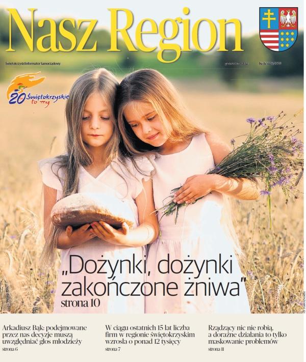 Kładka Nasz Region Sierpień 2018