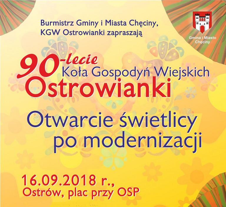 Jubileusz Ostrowianek