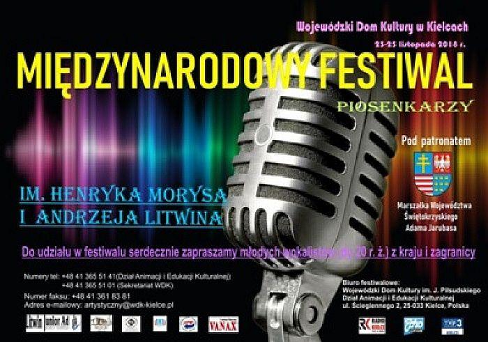 Festiwal dla młodych wokalistów