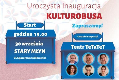 Plakat Kulturobus