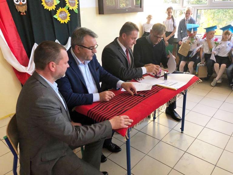 Wsparcie dla szkół w gminie Bodzentyn