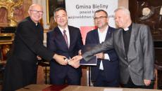 Podpisanie Umowy Z Gminą Bieliny (8)