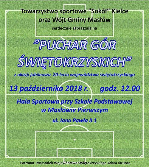 Puchar Gór Świętokrzyskich rozegrają w Masłowie